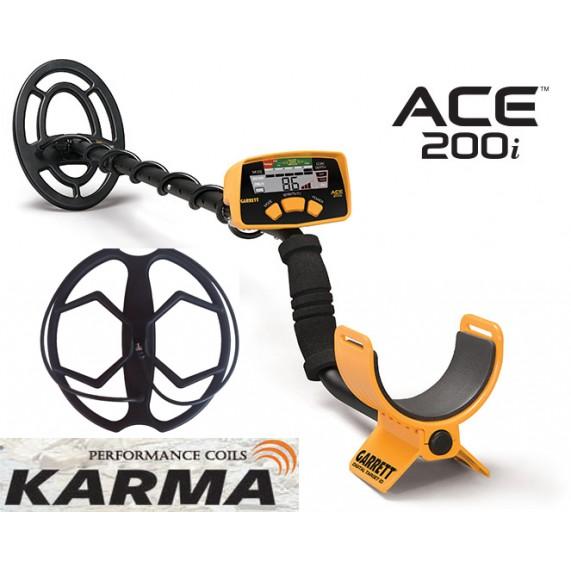 Ανιχνευτής Garrett ACE 200i + Karma + 5 δώρα
