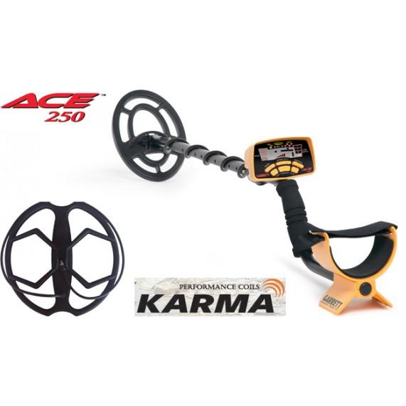 Ανιχνευτής Garrett ACE 250 + Karma + 5 δώρα + δωρεάν παράδοση