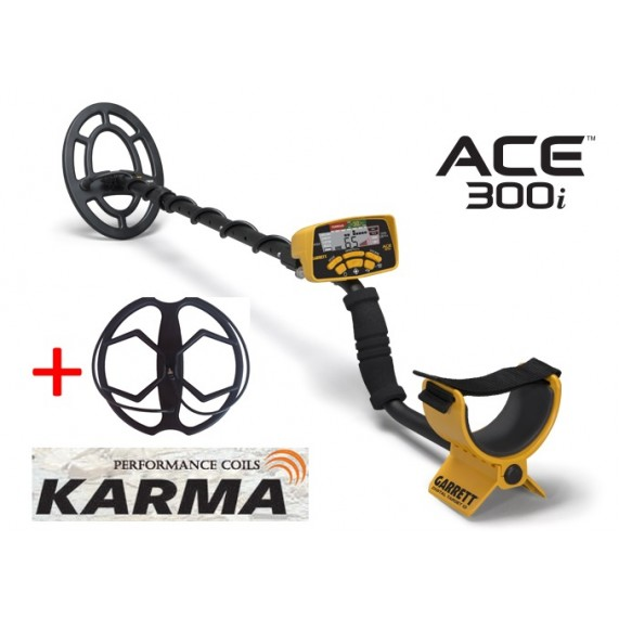 Ανιχνευτής Garrett ACE 300i + Karma + 5 δώρα