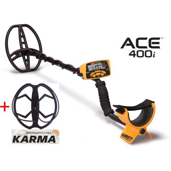 Ανιχνευτής Garrett ACE 400i + Karma + 5 δώρα